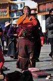Tibetan woman Royalty Free Stock Photos