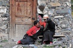 Tibetan woman Royalty Free Stock Photo