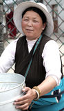 Tibetan women Stock Images