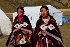 Tibetan women Royalty Free Stock Image