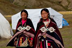 Tibetan women Royalty Free Stock Photos