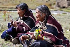 Tibetan women Royalty Free Stock Images