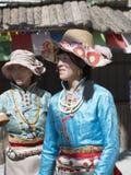 Tibetan Women Stock Photography