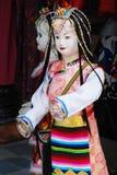 Tibetan women model Stock Photography