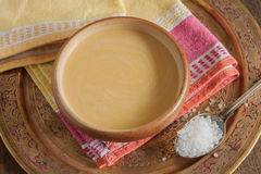 Tibetan Yak Butter Tea Royalty Free Stock Photos