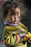 Tibetan young girl Royalty Free Stock Photo
