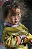 Tibetan young girl royalty free stock photo