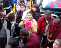 Tibetan Youth Uprising Day Dharamsala India Royalty Free Stock Photo