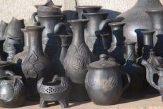 Tibetan zwart aardewerk Royalty-vrije Stock Fotografie