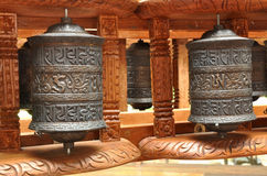 Tibetana bönklockor Royaltyfri Fotografi