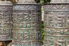 tibetana klockor Royaltyfria Bilder