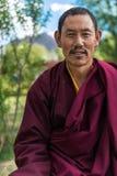 Tibetana Lhama Royaltyfri Fotografi