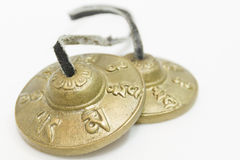 TibetanCymbals Royalty Free Stock Photo