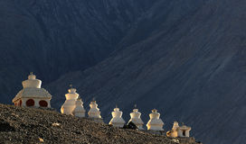 Tibetaner chörten lizenzfreie stockfotografie