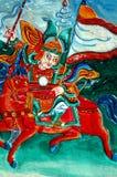Tibetaner geschnitzt Lizenzfreies Stockbild