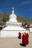 Tibetaner monastary Lizenzfreie Stockfotos
