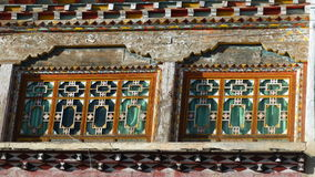 Tibetanische Artfenster Lizenzfreie Stockbilder