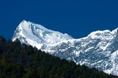 Tibetanische Berge Stockfotos