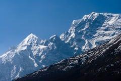 Tibetanische Berge Stockfoto