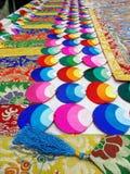 Tibetanische Dekoration Stockfotografie