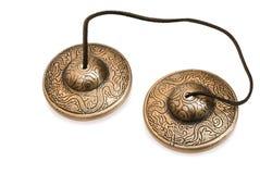 Tibetanische Glocken Stockfotografie