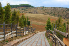 Tibetanische Landschaft. Lizenzfreie Stockbilder