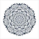 Tibetanische Mandala auf nahtlosem Hintergrund Lizenzfreies Stockbild