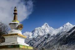 Tibetanische Pagode Stockbilder