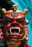 Tibetanische Schablone Stockfoto