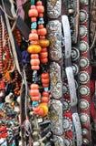 Tibetanische Schmucksachen Stockfoto