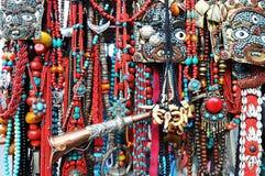 Tibetanische Schmucksachen Stockfotos