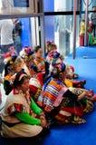 Tibetanische Tänzer, 2013 WCIF Stockbild