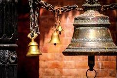 Tibetanische Tempelglocken Lizenzfreies Stockbild