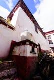 Tibetanischer Bau Stockfoto