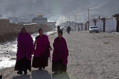 Tibetanischer Buddhismus Stockfotos