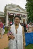 Tibetanischer Immigrant Stockfotografie