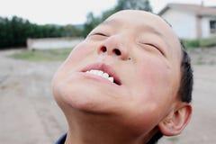 Tibetanischer Junge Stockfotos