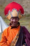 Tibetanischer Mönch Stockbild