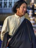 Tibetanischer Mann Lizenzfreies Stockbild