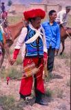 Tibetanischer Reiter Lizenzfreie Stockfotografie