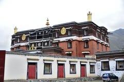 Tibetanischer Tempel Stockbild