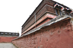 Tibetanischer Tempel Stockfotografie