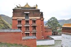 Tibetanischer Tempel Lizenzfreie Stockfotografie
