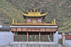 Tibetanischer Tempel Lizenzfreies Stockfoto