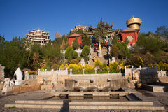 Tibetanischer Tempel Lizenzfreie Stockfotos