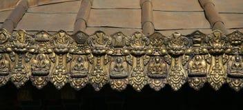 Tibetanischer traditioneller Dekor Stockbilder