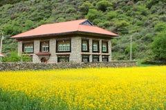 Tibetanischer Wohnsitz Lizenzfreie Stockbilder