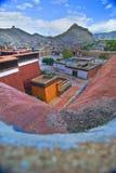 Tibetanisches buddhistisches Kloster Lizenzfreie Stockfotografie
