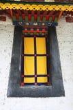 Tibetanisches Fenster Stockfoto