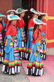 Tibetanisches Festival Lizenzfreie Stockfotografie